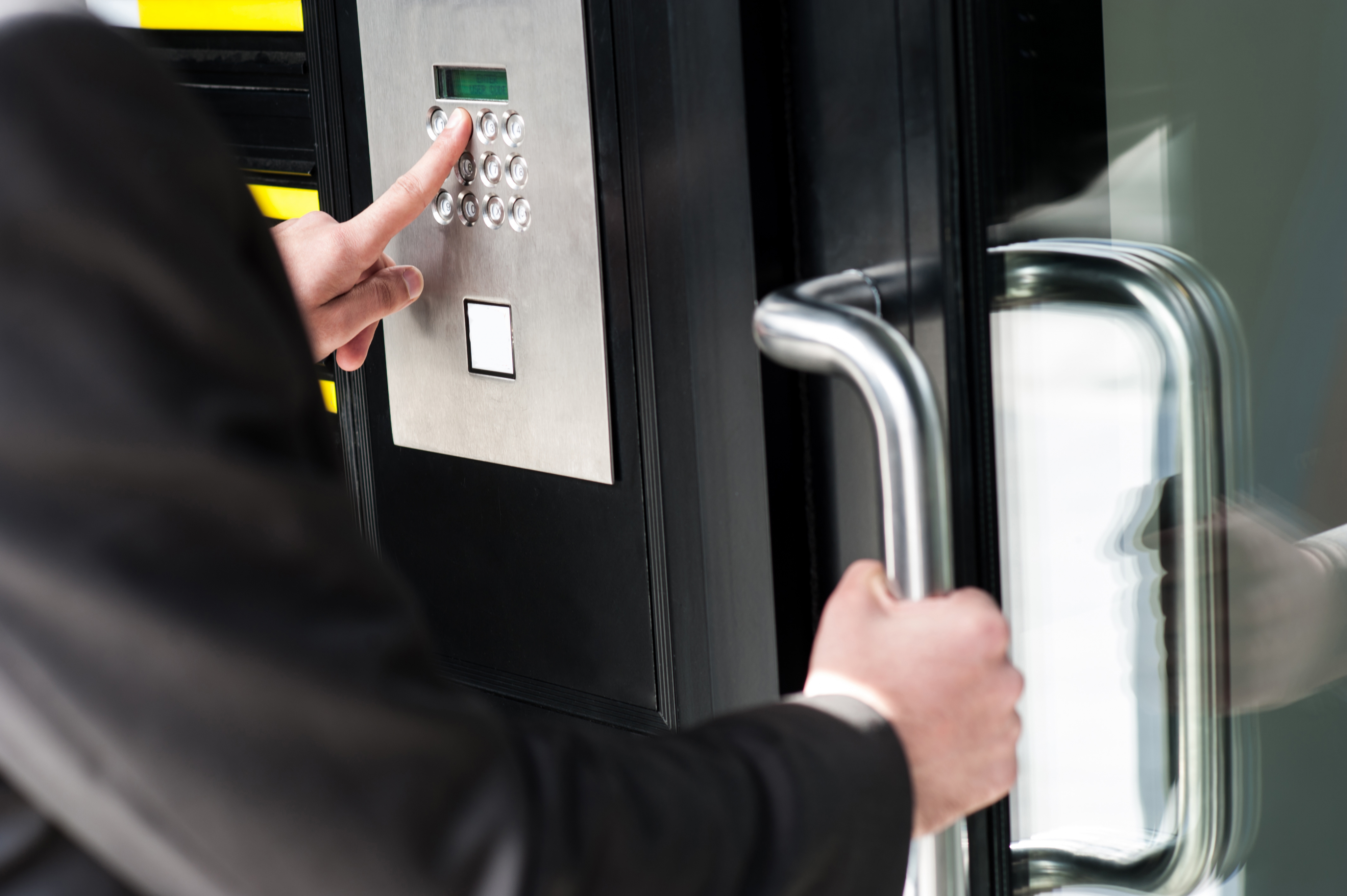 get keyless locks for your commercial business save time and money. Edmonton Locksmith